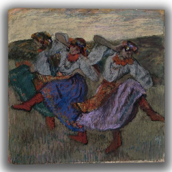 Degas, Edgar: Russian Dancers. Fine Art Canvas (003758)